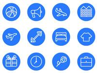 Скачать бесплатно 90+ черно-белых иконок с изображениями объектов и предметов