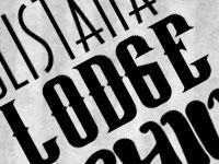 Скачать бесплатно 20 новых декоративных шрифтов за октябрь