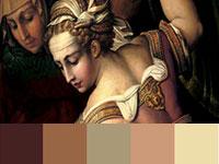 20 готовых цветовых палитр с картин художника Джорджо Вазари