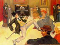Модернистские зарисовки от американского художника Альберта Блоха