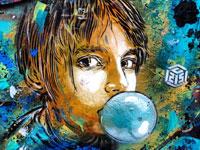 Горгона, счастье в дровах, пузырь и другие примеры стрит арта