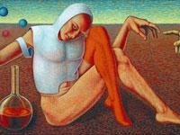 Философский символизм в работах художника Александра Насекина