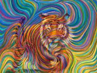 Энергетические вихри на картинах художницы Julia Watkins