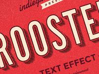 Примеры стильной типографики и текстовых эффектов за июль