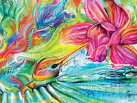 Переплетение цвета и формы от иллюстратора Fabian Jimenez