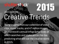 Креативные тенденции и тренды 2015 года по версии Shutterstock