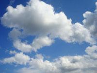 Скачать бесплатно текстуры с изображением облаков и голубого неба