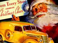 Рождество и Новый год в очаровательных винтажных открытках