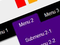 20 мануалов по созданию меню навигации с помощью HTML5 и CSS3