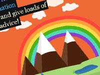 20 примеров затейливых дизайнов сайтов с яркой цветовой палитрой