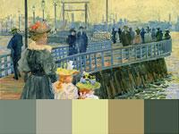 20 готовых цветовых палитр с картин художника Мориса Прендергаста