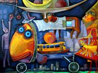 Oldman, рыба с фруктами и другие прикольные иллюстрации рунета