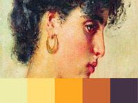 20 готовых цветовых палитр с картин художника Константина Маковского