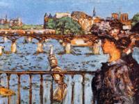 Причудливые цвета на картинах художника-колориста Пьера Боннара
