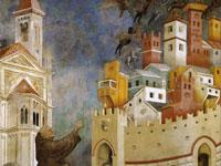 Средневековые легенды на картинах итальянского художника Джотто