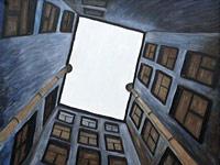 Симпатичные зарисовки современного города в работах русских художников